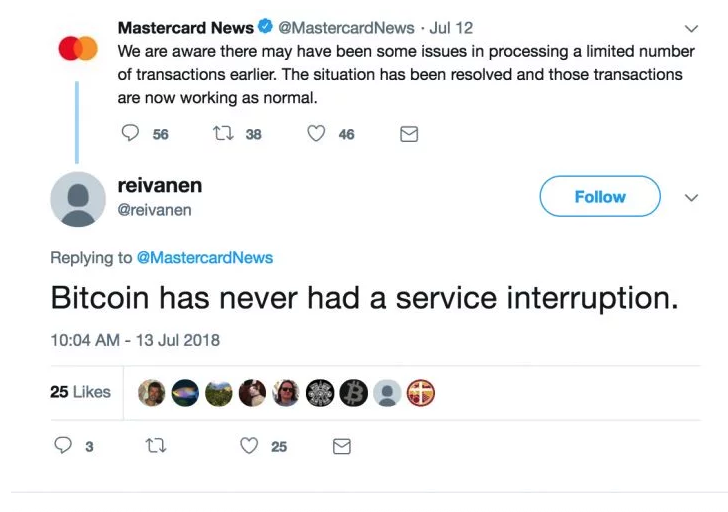 (Source: Coindesk) See Coindesk for more such tweets